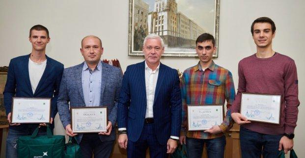NURE students were awarded the Mayor's Gratitude
