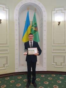 Студент ХНУРЭ победитель конкурса «Молодой человек года 2020»