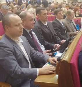 The NURE delegation participated in parliamentary hearings