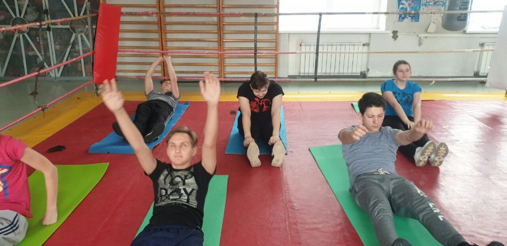 Students of the Kharkiv National Academy of Physical Culture are trained in NURE
