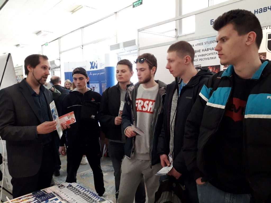 """NURE takes part in the exhibition """"Poltava applicant and training in Europe"""""""