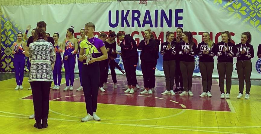 Спортсмен ХНУРЭ победитель Чемпионата по спортивной аэробике