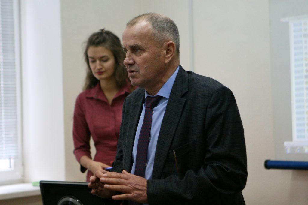Valerii Semenets met with scientists of the Department of BME