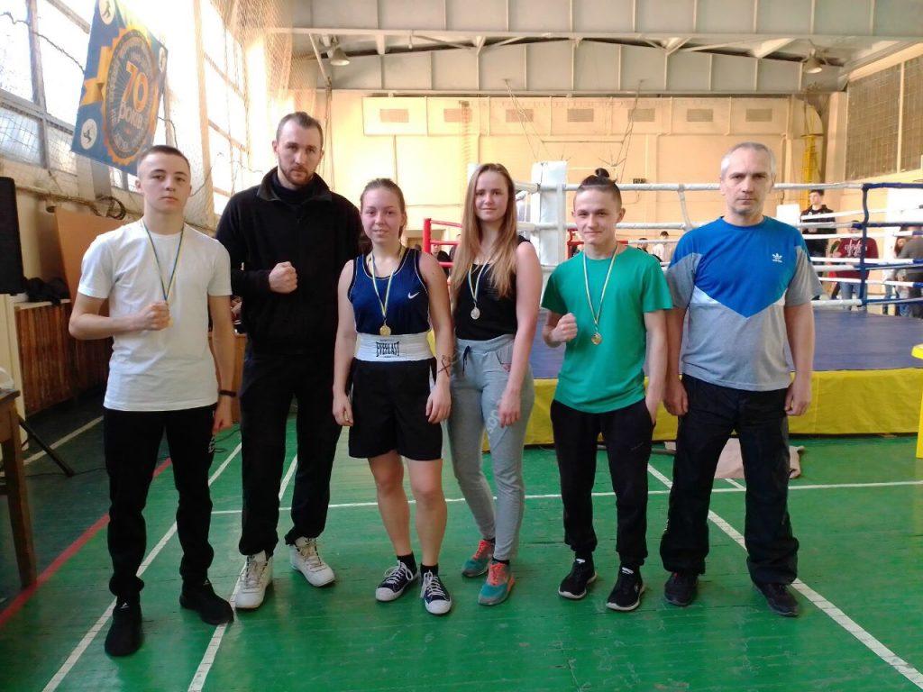 NURE boxers won prizes