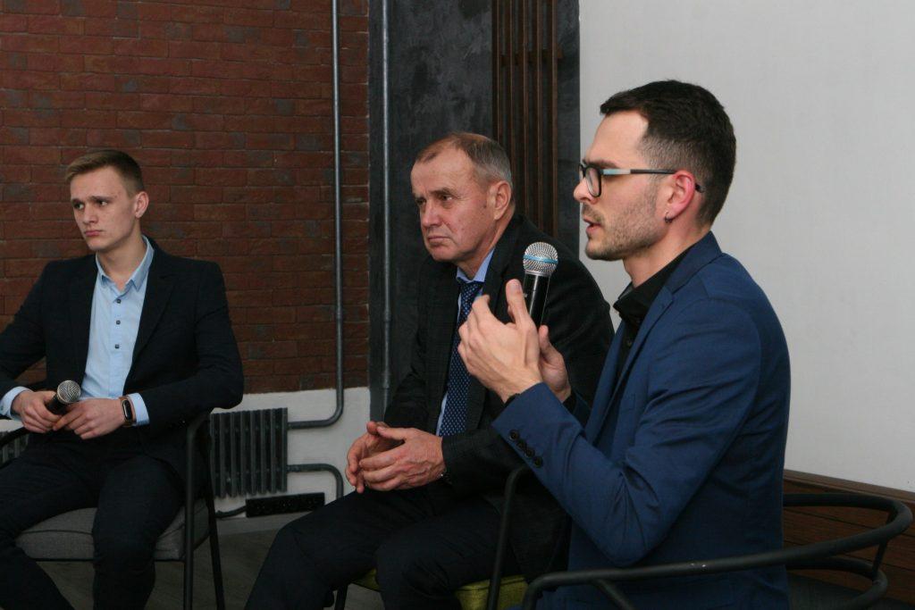 В ХНУРЭ состоялась встреча педагогов с заместителем министра образования и науки Егором Стадным
