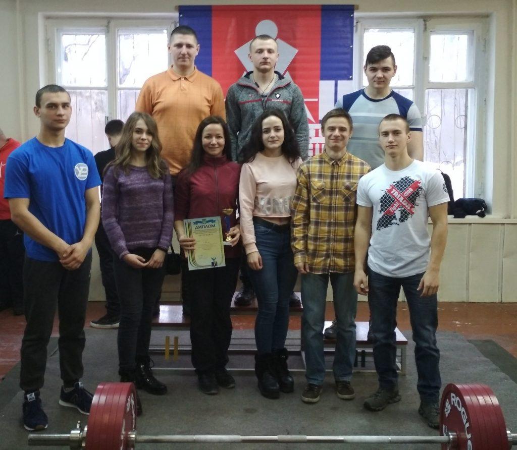 Студенти ХНУРЕ взяли участь в обласних змаганнях з пауерліфтингу