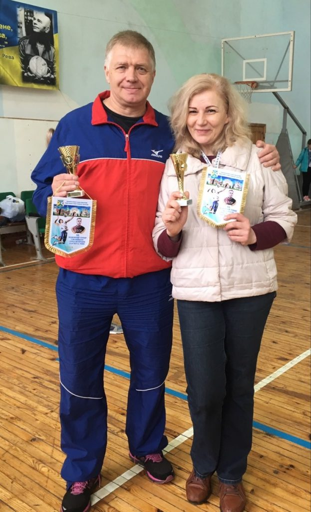 Representatives of NURE took part in the volleyball tournament