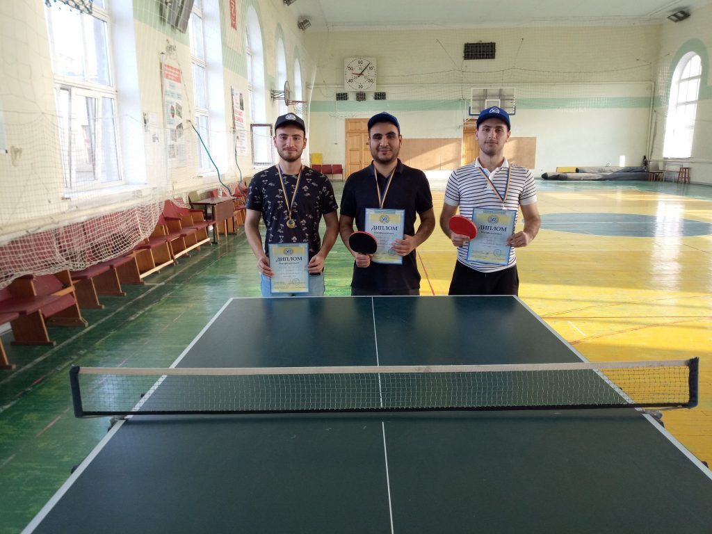 Table tennis competitions among foreign students were held in NURE
