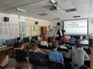 На кафедрі ПЕЕА пройшла зустріч з компанією «Прогресстех-Україна»