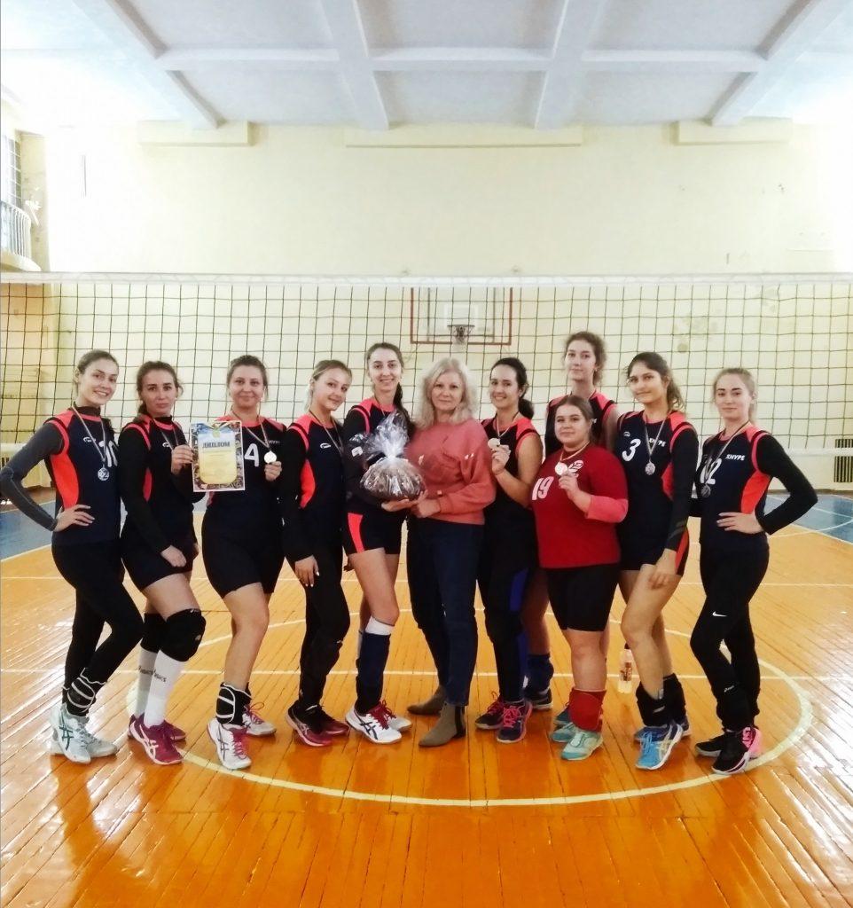 Студенти ХНУРЕ стали срібними призерами Кубку з волейболу
