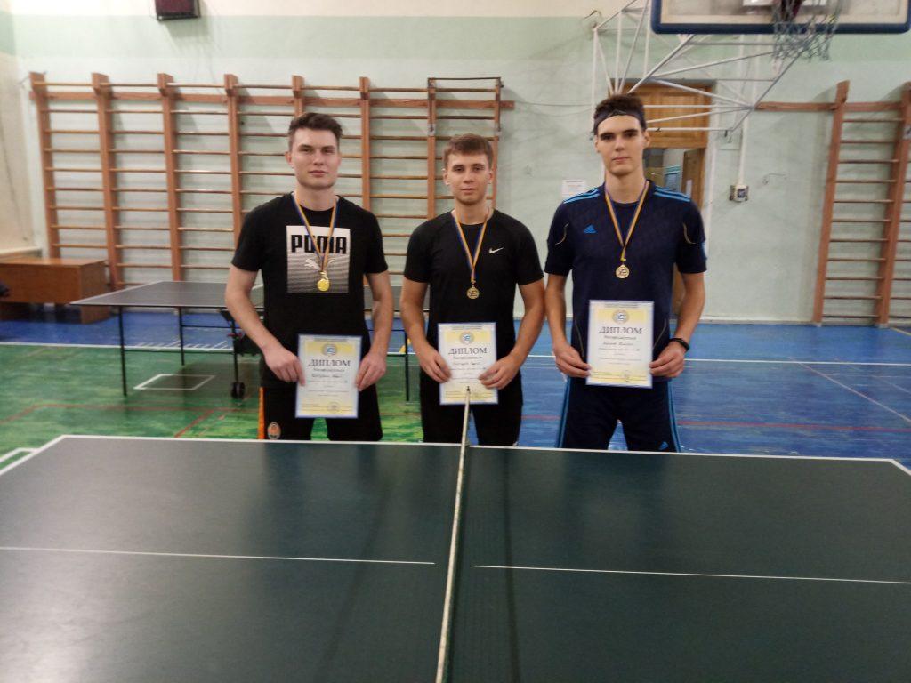 В ХНУРЕ прошло первенство по настольному теннису