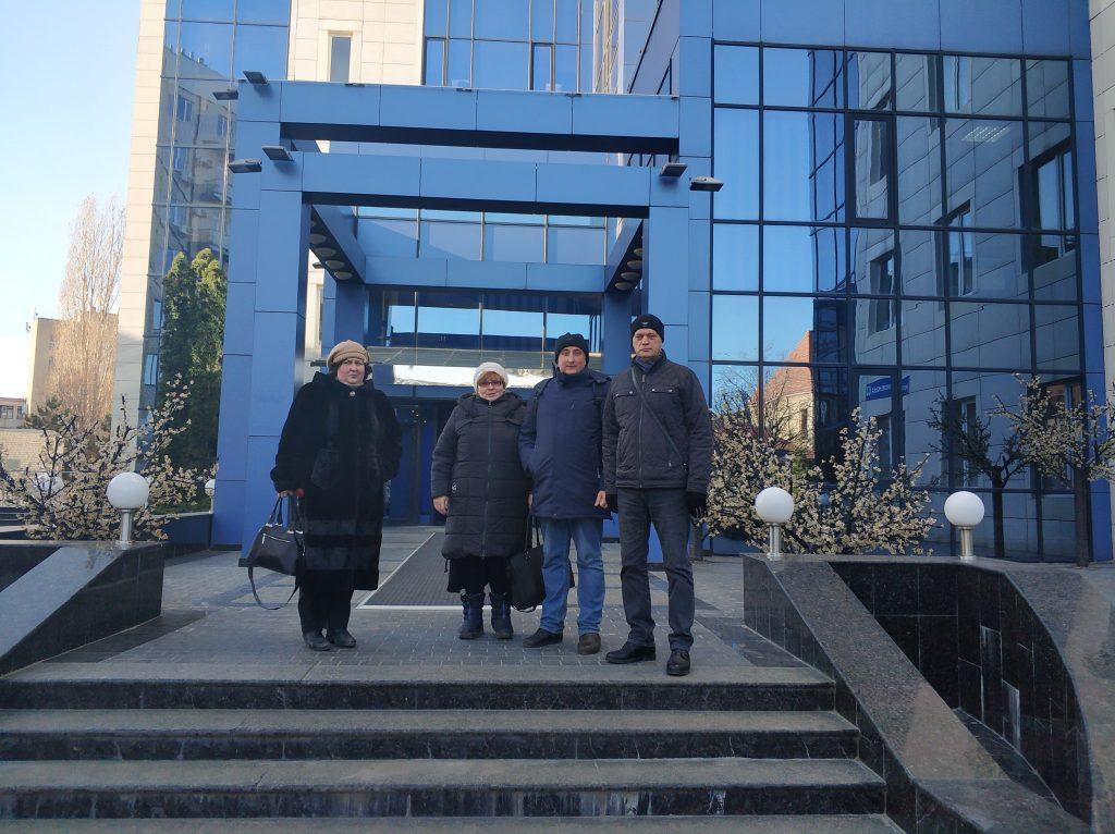 Делегація кафедри ПЕЕА відвідала компанію «ДІШ Україна»