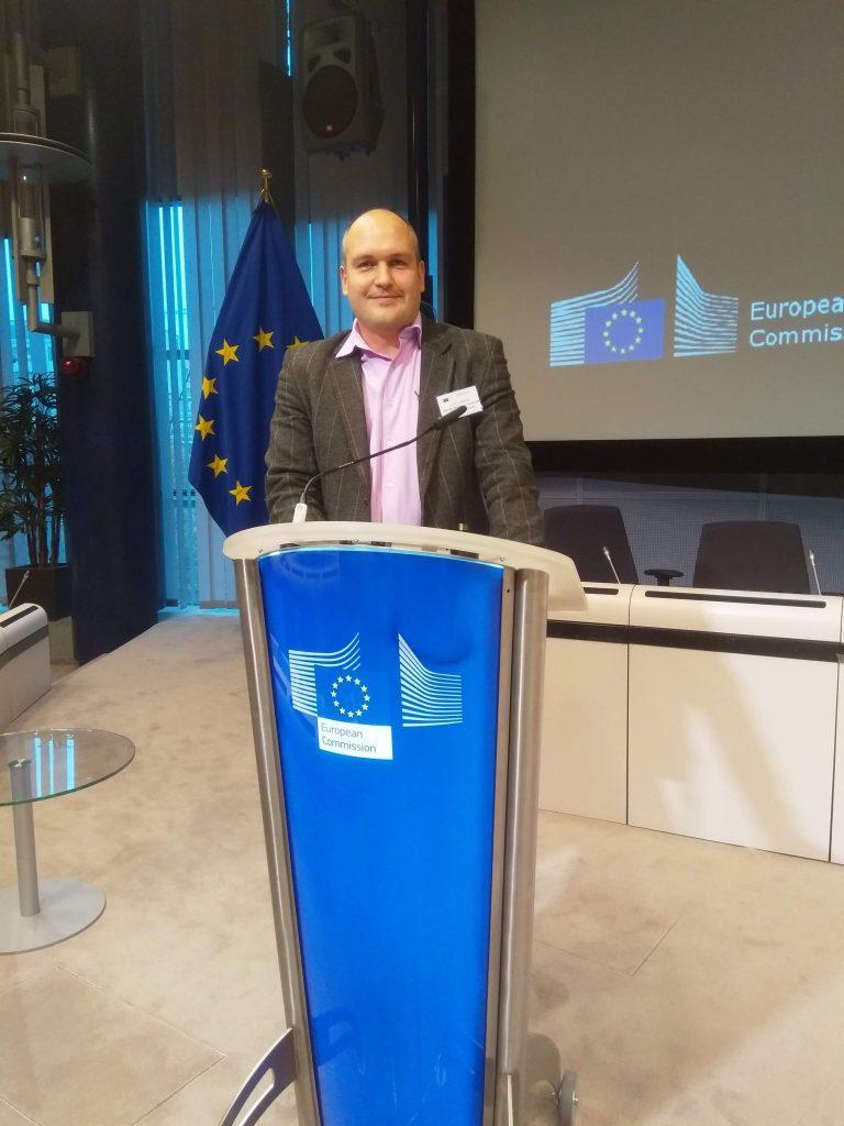 Алексей Турута представил ХНУРЭ на мероприятии Digital Single Market в Брюсселе