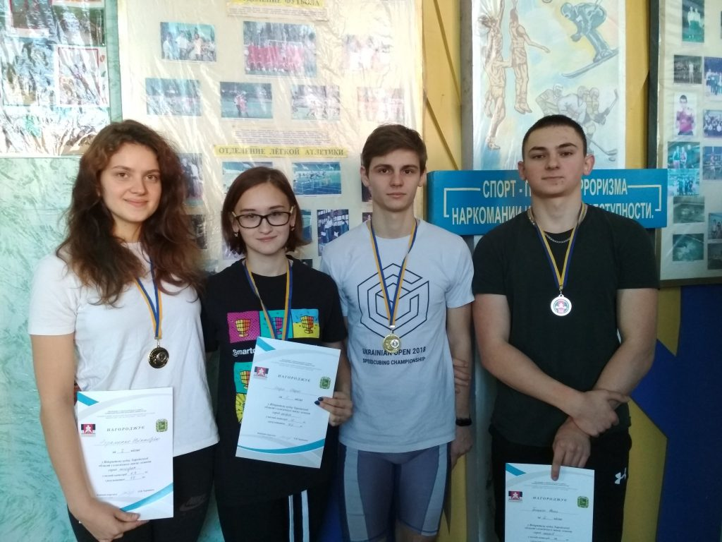 NURE students won gold In the Open Cup of the Kharkiv region in the classic bench press