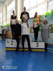 NURE students took part in cheerleading competitions