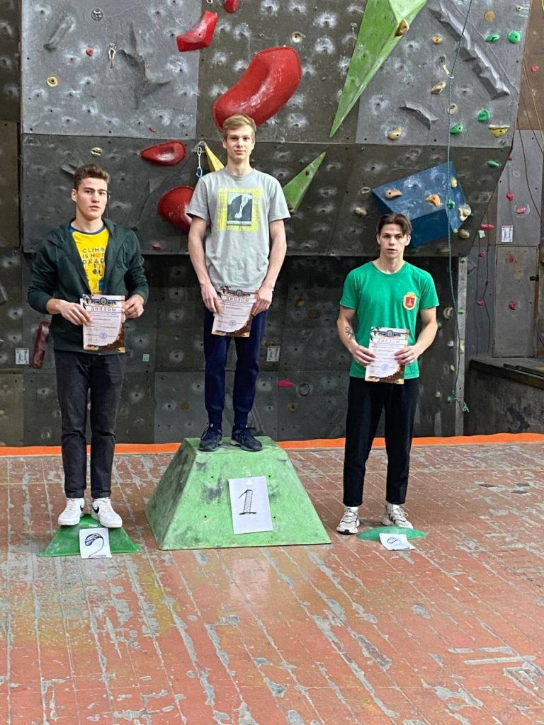 The NURE athlete took part in the final of the Ukrainian Climbing Cup