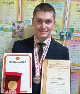 Студент ХНУРЕ здобув срібну медаль на Міжнародному конкурсі ICAN 2021