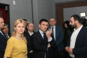 Павло Клімкін та Юлія Світлична відвідали науковий парк Синергія