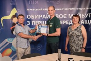 """NURE Media Center took part in the creative competition """"Chasopys – 2021"""""""