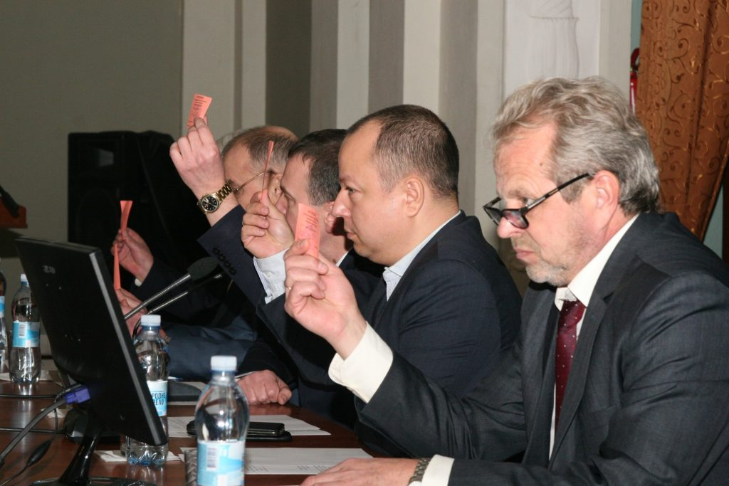 A conference of the labor collective took place in NURE