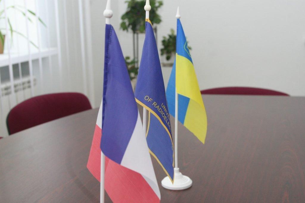 ХНУРЭ посетил атташе Посольства Франции по вопросам университетского и научного сотрудничества