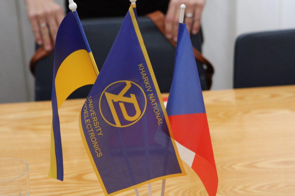 В ХНУРЭ обсудили возможность обучения студентов в Чехии