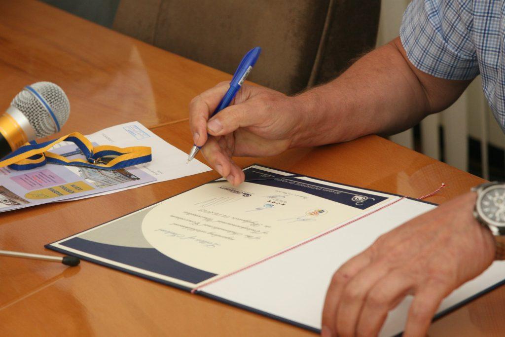 Rector of NURE signed a Memorandum on the establishment of an International University Consortium