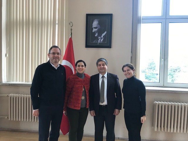 NURE will implement joint projects with the Turkish colleagues