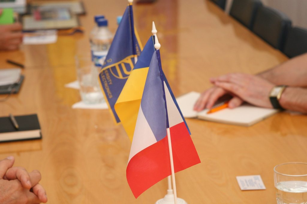 A meeting with the head of international cooperation programs of the French University was held in NURE