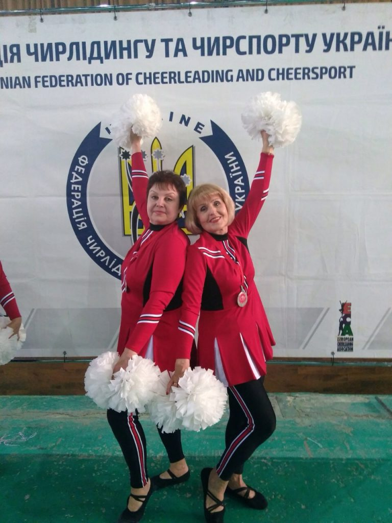 """The """"Nice Ladies"""" team became a silver medalist"""