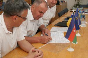 Ректор ХНУРЕ підписав угоду про співробітництво з університетом Азербайджану
