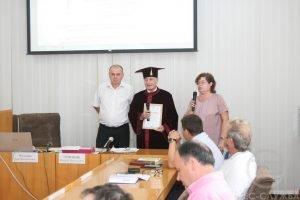 """Професору Шахіну Серхат Шекеру присвоєно звання """"Почесний професор ХНУРЕ"""""""