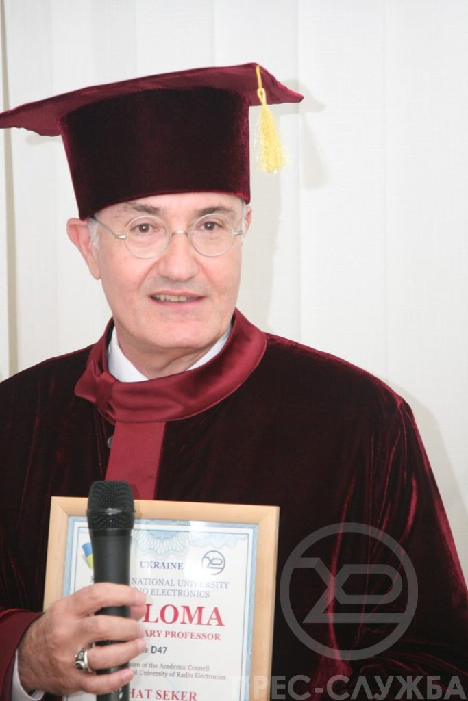"Professor Shahin Serhat Seker was awarded the title ""Honorary Professor of NURE"""