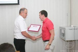 Компанія LG Eleсtronics вручила сертифікати співробітникам ХНУРЕ