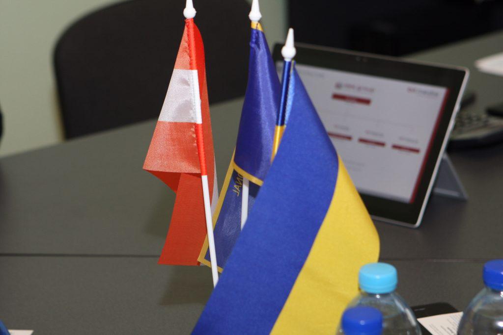 ХНУРЭ с рабочим визитом посетили представители австрийской фирмы «Бит — Медиа»