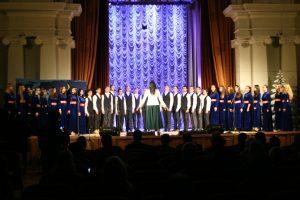 В ХНУРЭ прошел новогодний праздничный концерт