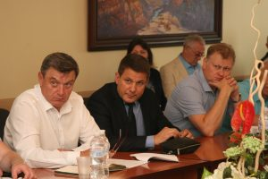 Ihor Ruban took part in the meeting of the Council of Rectors