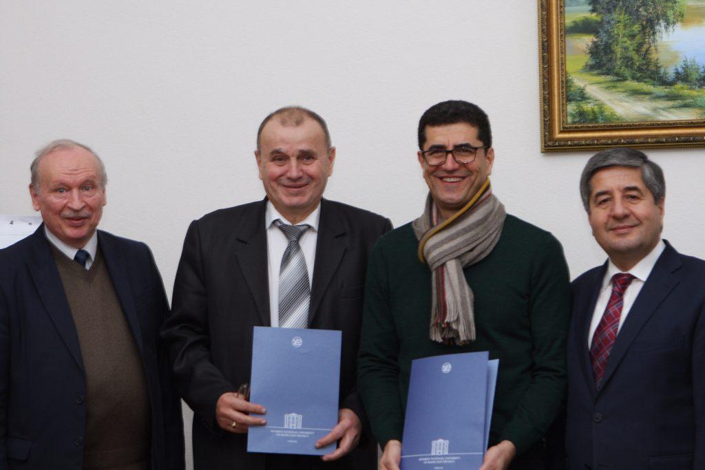 В ХНУРЭ подписали меморандум по международному сотрудничеству