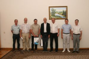 NURE and Electrolux discussed the possibility of implementing joint projects