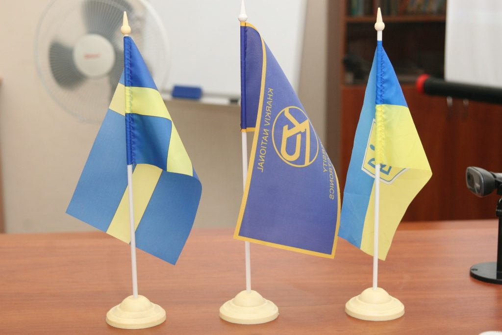 The possibility of cooperation with the Swedish University wasdiscussed in NURE