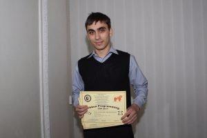 Студенты ХНУРЭ получили диплом за участие в международных соревнованиях