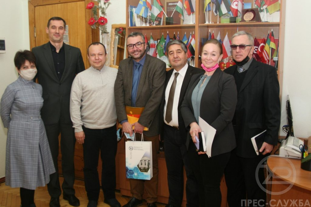 The Director of the Kharkiv Branch of the French Alliance visited NURE