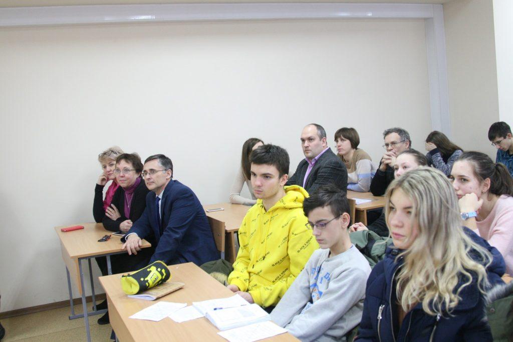 SCHOOLCHILDREN RECEIVED CERTIFICATES OF FINISHING THE WINTER MATHEMATICAL SCHOOL