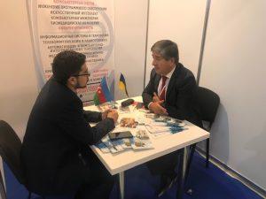 Мурад Омаров представляет ХНУРЭ на выставке «Образование» Eduexpo в Азербайджане