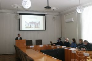 A meeting of the commission on the directions of reforming the Scientific Library took place in NURE
