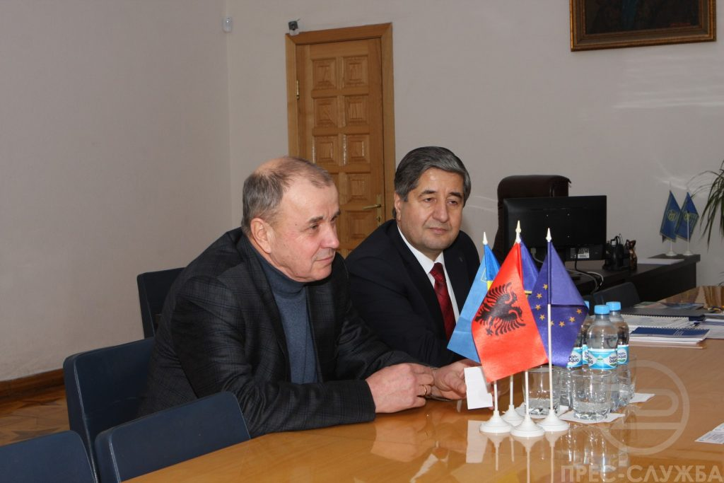 The Rector of NURE held a working meeting with Sviatoslav Yurash