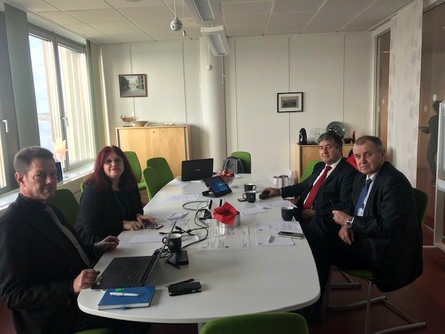 NURE delegation visits University of Sweden