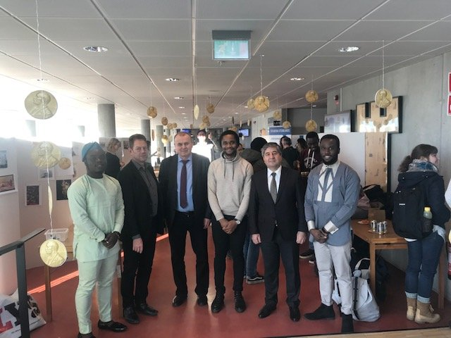 The visit of the NURE delegation to Sweden continues