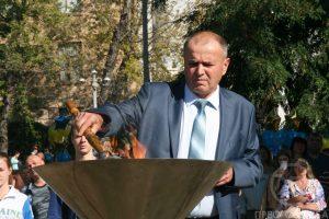 В ХНУРЭ состоялся праздник посвящения в студенты