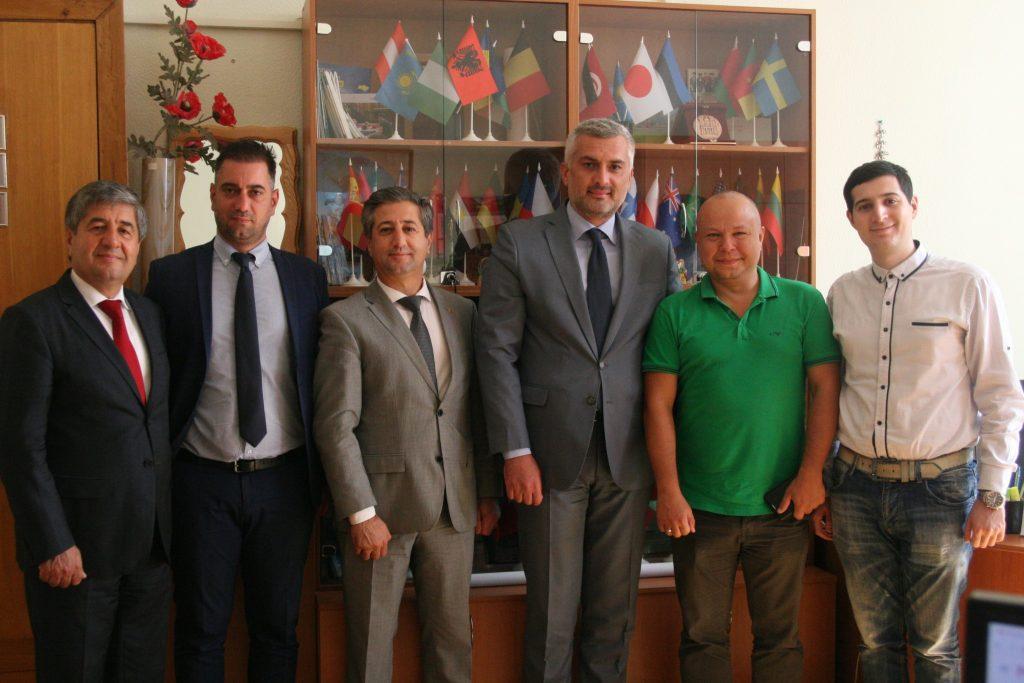 У ХНУРЕ пройшла зустріч з представниками Міністерства з питань діаспори Республіки Албанія